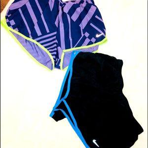 EUC pair of Nike shorts